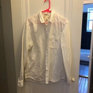Linen button down for men